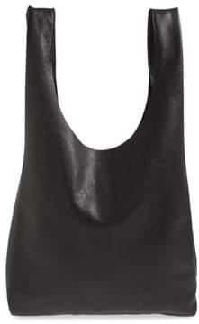 Baggu Leather Tote - Black