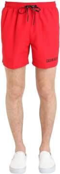 Calvin Klein Underwear Double Waistband Nylon Swim Shorts