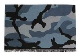 Valentino Men's Multicolor Wool Scarf.
