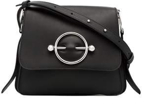 J.W.Anderson black Disc leather cross-body bag