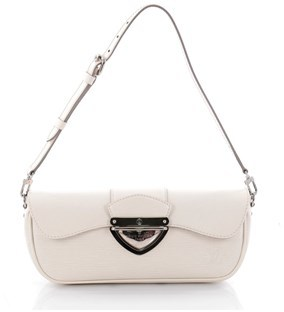 Louis Vuitton Pre-owned: Montaigne Clutch Epi Leather. - WHITE - STYLE