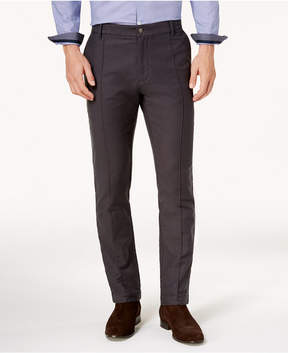 Ryan Seacrest Distinction Men's Modern-Fit Gray Knit Pants, Created for Macy's