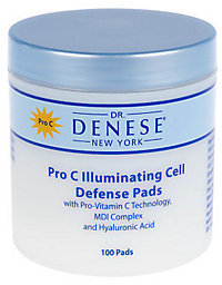 Dr. μ Dr. Denese Super-size Pro C Cell Defense Pads, 100 ct.