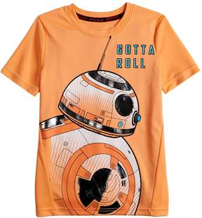 Star Wars A Collection For Kohls Boys 4-7x a Collection for Kohl's BB8 Gotta Roll Tee