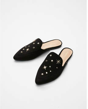 Express star studded loafers