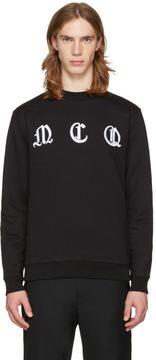 McQ Black Clean Logo Pullover