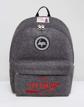 Hype X Coca Cola Backpack in Charcoal