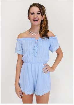 Ark & Co An Embroidered Engagement Romper