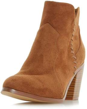 Head Over Heels *Head Over Heels By Dune Tan Pandoro Ladies Ankle Boots
