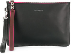 Paul Smith top zip clutch
