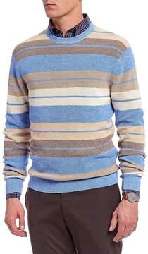 Daniel Cremieux Signature Crew All-Over Stripe Sweater