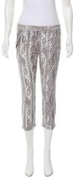 Ella Moss Printed Straight-Leg Pants w/ Tags