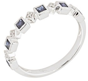 Bony Levy Women's Stackable Diamond & Sapphire Band Ring (Nordstrom Exclusive)