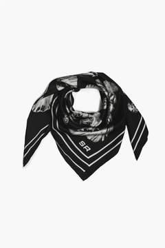 Sonia Rykiel   Oyster Print Silk Twill Square Scarf