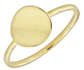 Bony Levy Women's 14K Gold Concave Disc Ring (Nordstrom Exclusive)