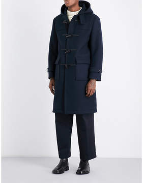 MACKINTOSH Hooded wool duffle coat