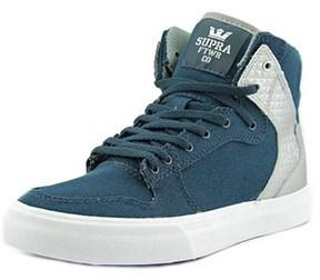 Supra Vaider Round Toe Suede Skate Shoe.