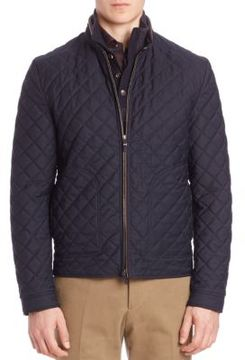 Luciano Barbera Quilted Jacket