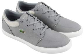 Lacoste Bayliss 218 2 Cam Gray Natural Mens Lace Up Sneakers