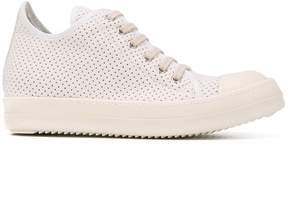 Rick Owens perforated sneakers