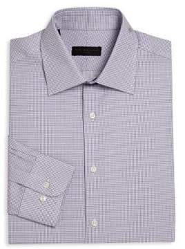 Ike Behar Regular-Fit Checked Dress Shirt