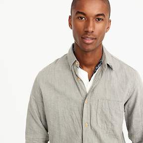 J.Crew Slim brushed flannel shirt