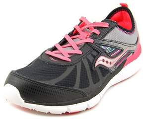 Saucony Volt Youth Round Toe Synthetic Black Running Shoe.