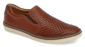 Johnston & Murphy Men's Mcguffey Woven Slip-On Sneaker