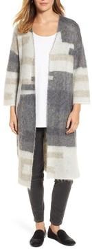 Eileen Fisher Women's Colorblock Long Cardigan