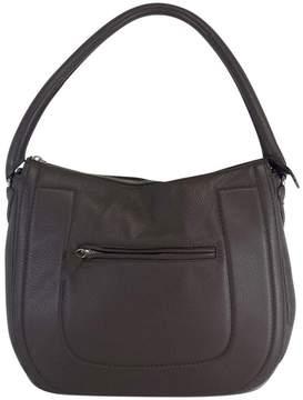 Brooks Brothers Large Leather Shoulder Bag