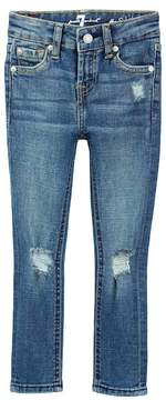 7 For All Mankind Distressed Skinny Jean (Little Girls)