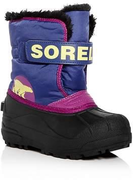 Sorel Girls' Snow Commander Waterproof Boots - Toddler, Little Kid