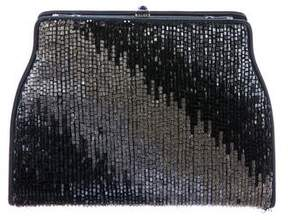 Judith Leiber Embellished Satin Bag