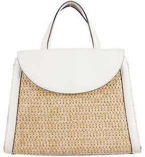 Kate Spade Cobble Hill Straw Small Adrien Bag - NEUTRALS - STYLE