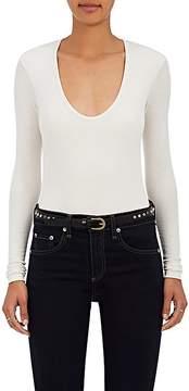 ATM Anthony Thomas Melillo Women's Rib-Knit Bodysuit