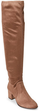 Tahari Winter Taupe Jodi Over The Knee Boots