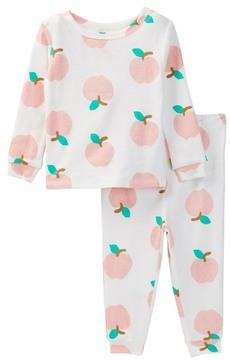 Joe Fresh Printed Pajama Set (Baby Girls)