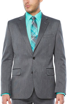 Jf J.Ferrar Pin Dot Classic Fit Suit Jacket