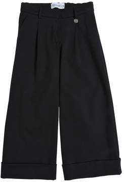 Simonetta Milano Jersey Wide Leg Pants