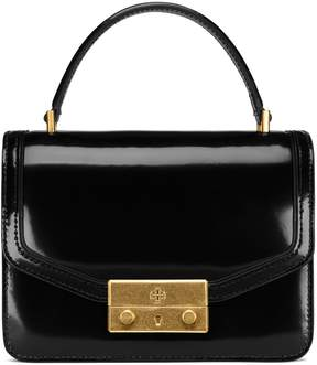 Tory Burch JULIETTE MINI TOP-HANDLE SATCHEL - BLACK - STYLE