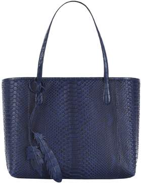 Nancy Gonzalez Large Python Carry-All Tote Bag