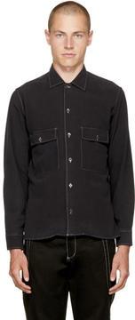 Cmmn Swdn Black Egon Shirt