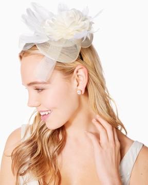 Charming charlie Azalea Blossom Fascinator Headband
