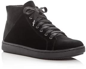 Eileen Fisher Women's Game Velvet High Top Sneakers