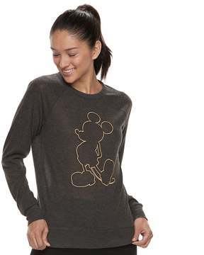 Disney Disney's Mickey Mouse Juniors' Silhouette Sweatshirt