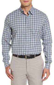 Paul & Shark Men's Checked Flannel Sport Shirt
