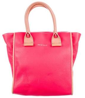 See by Chloe Bicolor Leather Satchel