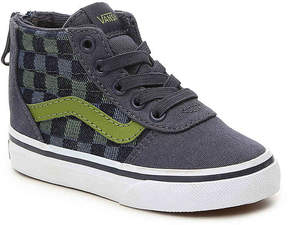 Vans Ward Toddler High-Top Sneaker - Boy's