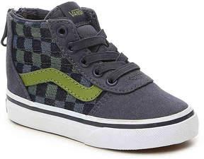 Vans Boys Ward Toddler High-Top Sneaker