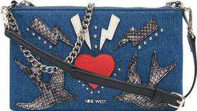 Nine West Pouchette Denim Crossbody Purse (Women's)